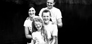 Stankevičių šeimos iškyla po Rietavo parką